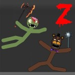 Stickman Warriors Zombie Fnaf Stick war, stickman warriors, StickmanDismounting
