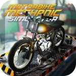 Motorbike Mechanic Simulator: オートバイガレージゲーム Car Simulator Crafting & Building FPSArcade Games