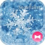 冬壁紙アイコン 雪の結晶 無料 +HOME by Ateam