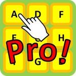 アルファベットをタッチPro! 脳トレにもなるミニゲーム Mitchy