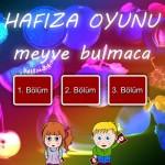 Hafıza Oyunu – Meyveler Ali Yucel