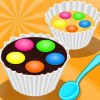 Lady & Girl Cooking: Muffins Smarties paris miller