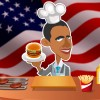 Obama Burger Stand Color Girl Games