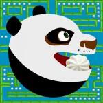 Pac Panda – kung fu man and monsters in 256 endless arcade maze Nhon Nguyen
