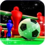 テーブルにはサッカーのゲームが2018 Weijian Chen