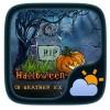 Halloween Weather Widget Theme GOLauncher EX