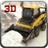 冬の雪のプラウトラックの運転 Wacky Studios -Parking, Racing & Talking3D Games