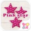 壁紙無料-Pink star-かわいいきせかえ・アイコン [+]HOME by Ateam