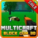 Multicraft block: gun 3d HD Józef Szymański