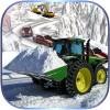 Winter Snow Rescue Excavator GlowGames
