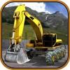 Excavator Offroad Construction Game Brick Studio