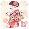 壁紙無料-Kimono Lady-かわいいきせかえ・アイコン [+]HOME by Ateam