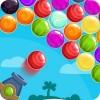 Island Bubble Shooter Golden Ball Games