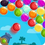 Island Bubble Shooter Golden Ball Games