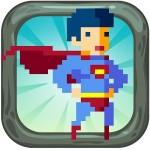 Pixel Superheroe Adventures Red Sushi Games