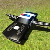 Flying Car Free: Police Chase GTRace Games