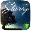 Starry GO Keyboard Theme Emoji ZTTheme