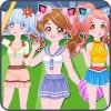 Cheerleader dress up game LPRASTUDIO