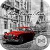 Retro car in Paris 壁紙きせかえ +HOME by Ateam