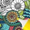 Mandala coloring game ColorJoy