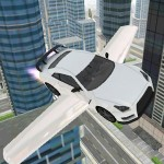 Flying Car Simulator 3D i6Games