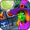 ハロウィーンの魔女のパズルの世界 GoVuzzle
