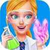 High School Science Girl Salon Pocket Princess