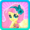 Dress up Fluttershy Dimos