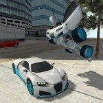 Flying Car Robot Simulator FoxyGames