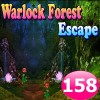 Warlock Forest Escape Game 158 Best Escape Game
