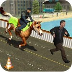 警察 うま 追跡 シティ 犯罪 SABRES Games Studios