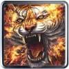 タイガーライブ壁紙—Fire Tiger HD Live Wallpaper 2017