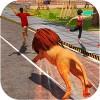 怒っている獣のライオンの攻撃 Versatile Games Studio