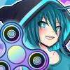 Anime Fidget Spinner Battle Lunime