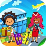 My Pretend Airport – Kids Travel Town FREE Beansprites LLC