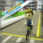 Kids School Race Bicycle Rider parking games
