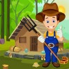 Cute Farmer Rescue Best Escape Game -268 BestEscape Game