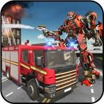 レスキューロボット変換 消防車 シミュレータ Game Scapes Inc