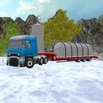 Winter Farm Truck 3D: Silo Transport Jansen Games