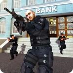 NY警察の戦いの銀行の強盗ギャングスターの選手 GameUnified