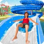 雪 スライディング 水 パーク: スライディング ゲーム Knock Solutions