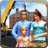 仮想父親の幸せな家の家建設サイト MobilMinds Apps