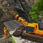 鉄道トンネル建設Sim:鉄道ゲーム SabloGames