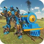 列車変換ロボット陸橋建設 3DeeSpace