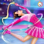 氷 スケート バレリーナ ダンス 化粧 サロン TikTok
