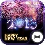 新年壁紙アイコン HAPPY NEW YEAR 2018 無料 +HOME by Ateam
