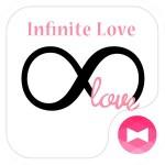 シンプル 壁紙アイコン INFINITE LOVE 無料 +HOME by Ateam