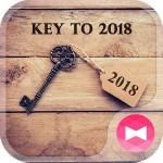 アンティーク 壁紙アイコン 2018への鍵 無料 +HOME by Ateam
