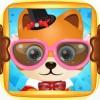 あなたの猫のドレス:無料の女の子のゲーム one one
