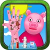 Nail Doctor Game: Pig Hand Day Charles Ware